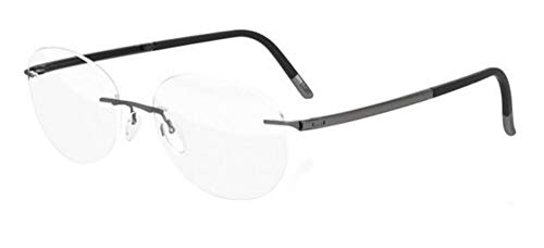 silhouette occhiali Montatura Silhouette FUSION 5479/5477 Ruthenium Black 49/19/140 uomo