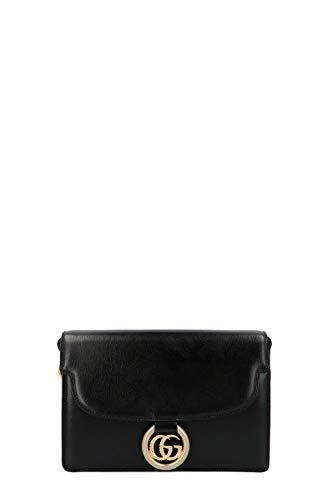 Luxury Fashion | Gucci Woman 5894741DB0G1000 Black Leather Shoulder Bag | Fall Winter 19