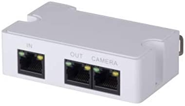 Loryta PoE Extender Mini Passive 2 Port POE Switch, IEEE 802.3af/at POE Extender, POE Repeater, Ethernet Splitter, Powering 2 POE Devices (IP Camera) Over One Cat5/6 Cable