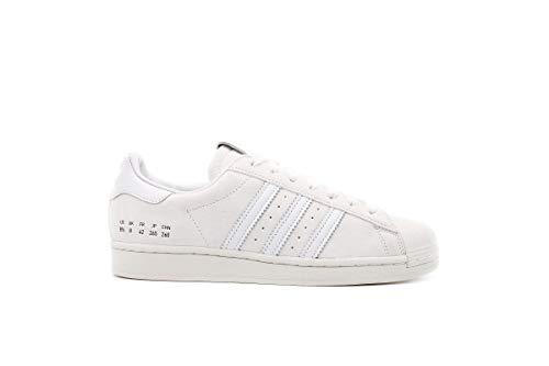 adidas Superstar Home of Classic, Zapatillas Deportivas Hombre, Supplier Colour FTWR White Off White, 45 1/3 EU
