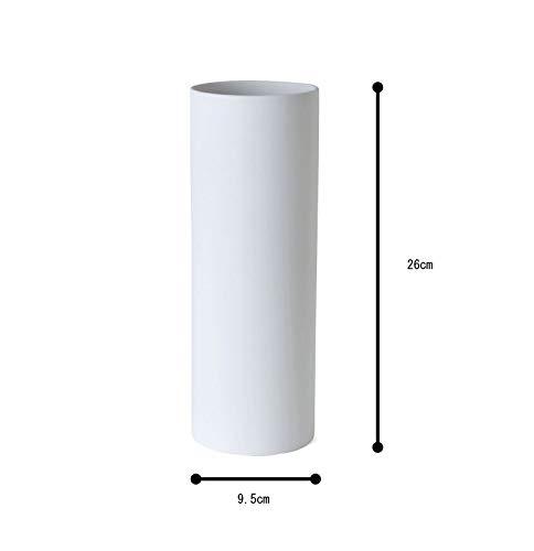 TAMAKIフラワーベースアヤホワイト直径9.5×高さ26cmT-910528