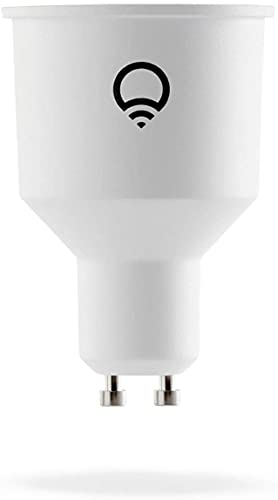 LIFX GU10 (International) Wi-Fi Smart LED Light Bulb, adjustable, multicolour, dimmable, no hub required, works with Alexa, Apple HomeKit and Google Assistant