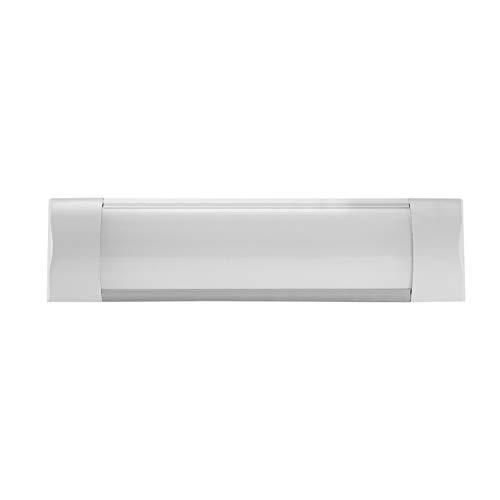 BUKEHANWEI Luces de Techo LED de 1 pies, luz de listón LED de 10 W, lámpara de purificación de 1200 lúmenes, Luces de Tubo Delgadas de Montaje en Superficie para Garaje, Tienda, Oficina,1PCS-30cm