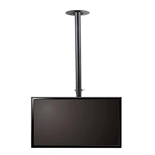 Soporte De Montaje En Techo para TV De 32 A 75 Pulgadas, Soporte De TV Telescópico Giratorio Inclinable, con Carga De 154 Libras, Fácil De Montar