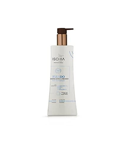 Ischia eau Thermale Fluido per Bendaggi - Tonificante Feddo - O.e. Menta Piperita, Mentolo, Rusco, Ananas, 500 Ml