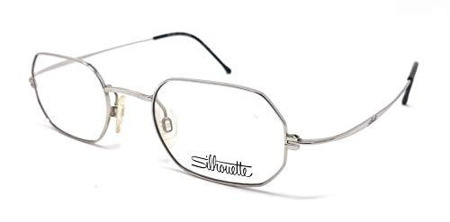 Silhouette - Gafas de vista para hombre y mujer, M 7310/10 V 6050, de latón vintage