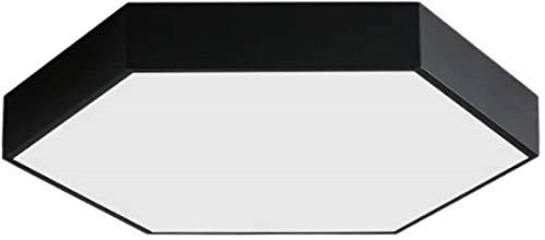 HGERFXC Plafoniera Moderna Lampada da soffitto, Lampada a Sospensione Esagonale in Ferro battuto, lampadario da Negozio per Soggiorno Camera da Letto, plafoniera a LED