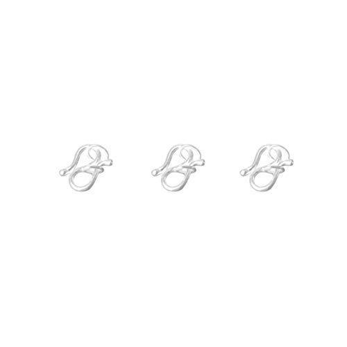 """SUPVOX 3 peças de fechos de bijuteria tipo """"faça você mesmo"""" para colar pulseira"""