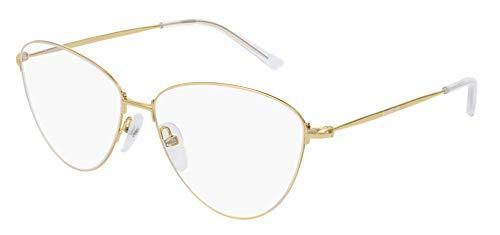 Balenciaga BB0034O - Occhiali da vista 003, 58 mm, colore: Oro