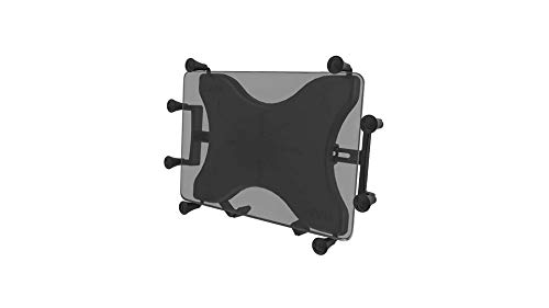 RAM Mounts X-Grip Universal Holder for 10 Inch Tablets - Round Base Plate (B or C Ball)