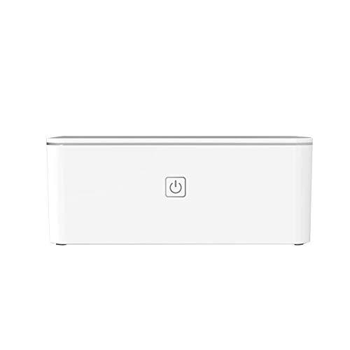 HGTRSDE Ultraschall UV-Reinigungsmaschine, Schmuckreinigungsmaschine 450ml Ultraschallreiniger Uhrenhalter Digital Timer Für Schmuck Silber Ring Anhänger Brille Metall Münzrasierer