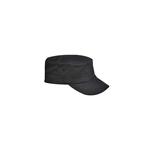 kangol Herren Mütze Cotton Twill Army Cap, Gr. Large (Herstellergröße:Large/X-Large), Schwarz