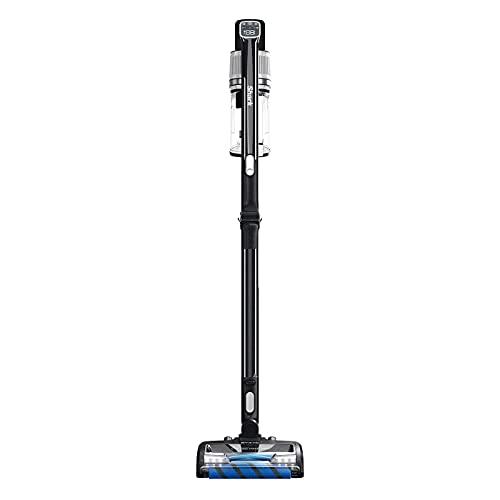 Shark Cordless Stick Vacuum Cleaner [IZ320UK] Anti Hair Wrap, PowerFins, Twin Battery, Black
