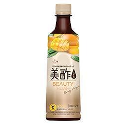 シージェイジャパン 美酢(ミチョ) ビューティープラス マンゴー 400ml ペットボトル 40本 (20本入×2 まとめ買い)