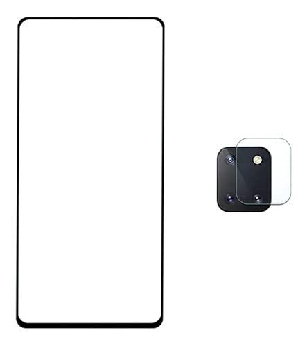 Película 5D Nano Flexível + Película Camera Samsung Galaxy Note 10 Lite - (C7COMPANY)