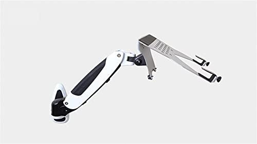 Accesorios para laptop Soporte para portátil de montaje en pared de aluminio, brazo de gas primavera Movimiento completo 10-17 pulgada portátil / portátil soporte de soporte Accesorios de computador