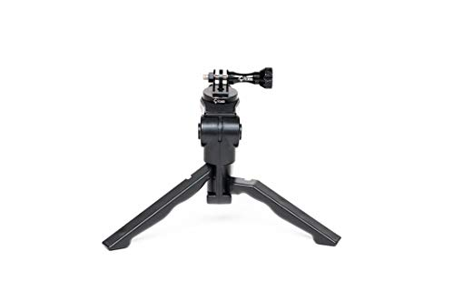 Chronos aluminum alloy cnc metal gopro tripod adapter / monopod mount with aluminum cnc thumbscrew for gopro max, gopro… 8 ✔️never break - tripod mount cnc cut from high quality aluminum with aluminum gopro dji osmo action thumbscrew ✔️versatility - standard 1/4-20 tripod stud for compatibility between accessories on any adventure or film session ✔️never lose end cap - built-in threaded end cap eliminating the need for a nut creating added strength and convenience