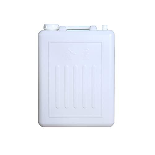 YXYXX Portátil Bidón Tanque De Agua Recipiente de Agua, 5/10/25 / 30L, Hogar, Automóvil, Jardín y Camping/Blanco / 25L