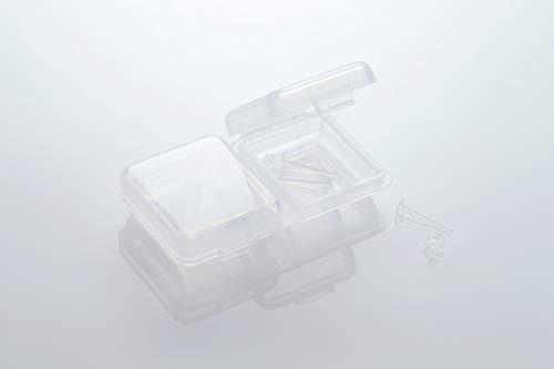 『医療用樹脂のノンアレルギーピアス アレルギー予防シークレット透明ピアス リメイン (5個セット)』の6枚目の画像