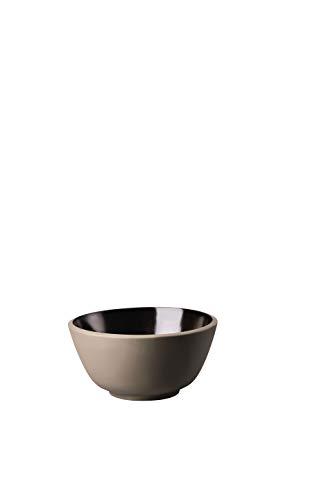 Rosenthal - Junto Bronze - Müslischale - Dessertschale - Schälchen - Steinzeug Ø 14 cm