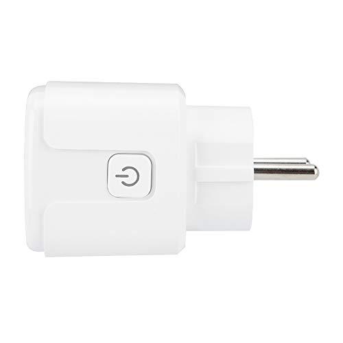 Zócalo Inteligente, función de Temporizador eléctrico 8.5x5x5cm Hecho de ABS (Blanco)
