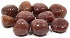 CrystalAge Red Muscovite Mica Tumble Single Stone 20-25mm Alternative Max 47% OFF dealer - St