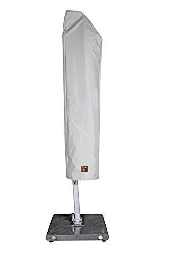 Knirps Schutzhülle Pendelschirm 340 cm – Wasserdicht und wetterfest – Komfortables Verschließen – Grau