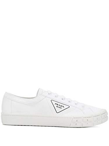 Luxury Fashion | Prada Heren 2EG302GUDF0009 Wit Katoen Sneakers | Lente-zomer 20