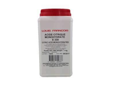 Inconnu Acide CITRIQUE MONOHYDRATE 1 KG