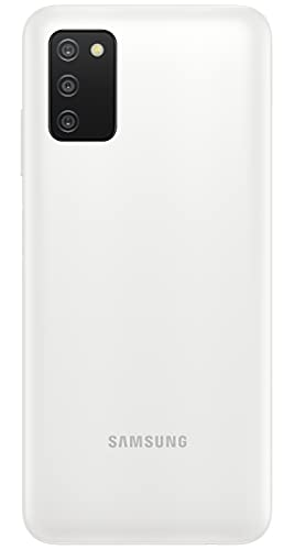 Samsung Galaxy A03s (White, 4GB RAM, 64GB Storage) with No Cost EMI/Additional Exchange Offers