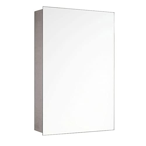 Armadietti a specchio Mobili da Bagno Mensola Multistrato per Bagno Armadietto per specchi da Toilette Scatola portaoggetti a Parete Bagno in Acciaio Inossidabile Specchio di Vetro