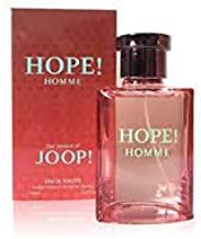 Hope Homme Perfume for Men, 3.4 oz 100 ml Toilette EDT Spray, Convenient NovoGlow Pouch Included, Perfect Gift