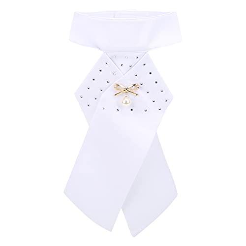 Pwshymi Equitación Stock Tie Ecuestre Pre Atado Broche Algodón Adulto Corbata Equipo de Cuello Equipo Ecuestre para Montar a Caballo