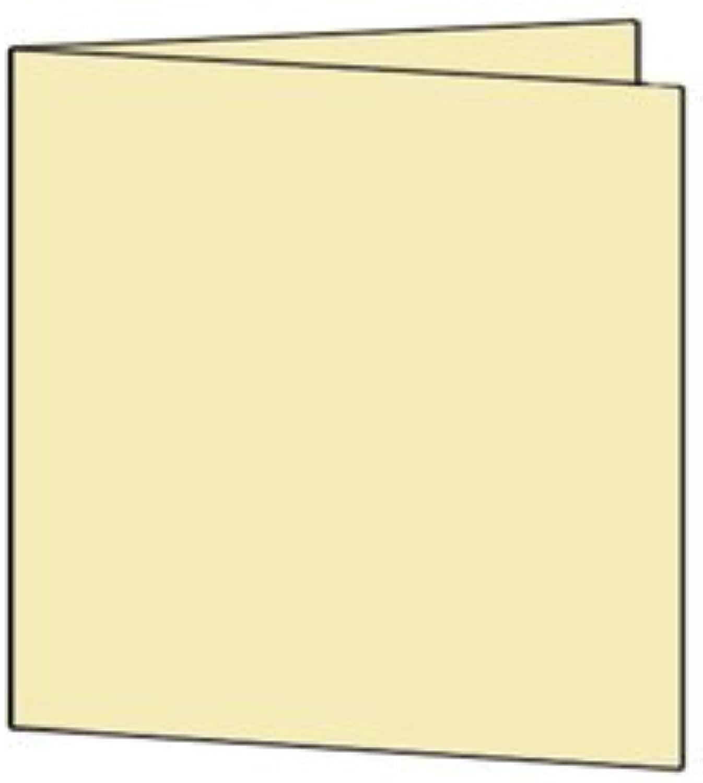 50 Stück    Artoz Serie 1001 Doppelkarten gerippt    Quadratisch, 260 x 130mm, hochwertig, baileys B002JJASUM     Optimaler Preis
