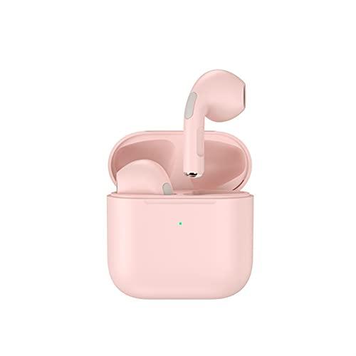 Auriculares inalámbricos Bluetooth 5.0 Earbudos inalámbricos Toque Control táctil, con Caja de Carga inalámbrica, Sonido inmersivo IPX5 Auriculares a Prueba de Agua a Prueba de Agua (Color : Rosado)