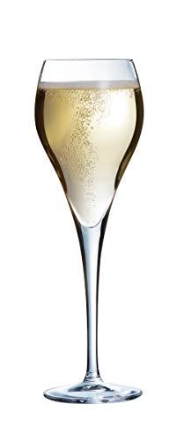 Arcoroc Brio copa de champán 160ml, sin la marca de llenado, 6 Copa