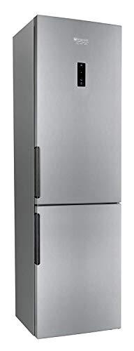 Hotpoint LH8FF2OA Libera installazione 301L A++ Argento frigorifero con congelatore, Senza installazione