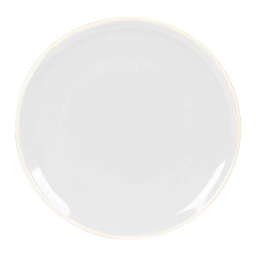 - assiette à dessert detonn blanc 20 cm (lot de 6)