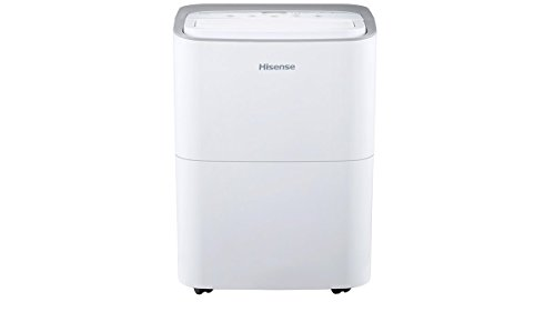 Hisense 35 pint 2-speed Dehumidifier (DH35K1W) (Renewed)