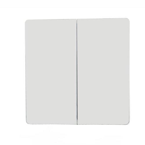 Premier Housewares 2402930 Adelphi Armoire de Salle de Bain MDF Finition Peinte Blanc Laqué