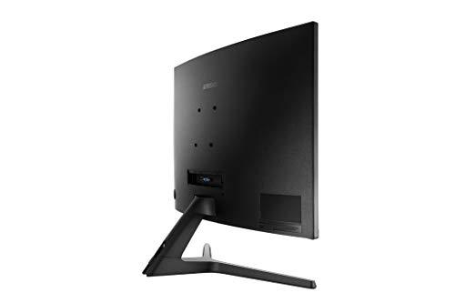 Samsung 27-Inch CR50 Frameless Curved Gaming Monitor (LC27R500FHNXZA) – 60Hz Refresh, Computer Monitor, 1920 x 1080p Resolution, 4ms Response, FreeSync, HDMI,Black