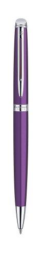 Waterman Hemisphere Purple Chrome Trim Ball Pen Gift Box