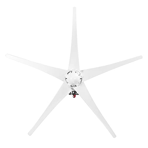 Staright Gerador de vento 12V 1200W com controlador de carregador 5 lâminas Kit de gerador de turbina eólica Minitype tipo S Moinho de vento de energia limpa para barcos em rodovias domésticas
