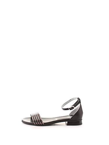 Sandalo da Donna NeroGiardini in Pelle Nero E012500D. Scarpa dal Design Raffinato. Collezione Primavera Estate 2020. EU 37