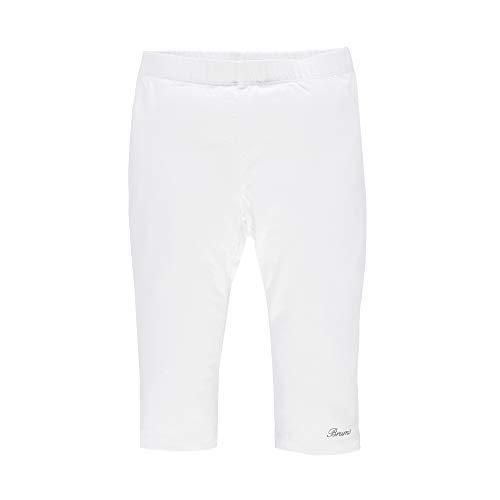 Brums 171BGBM014, Pantalone Pescatore Bambina, Bianco Optical White 01, 104 cm Taglia Produttore: 4A