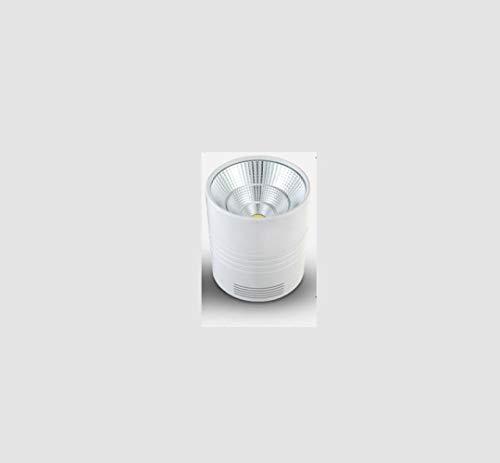 skoy iyue Applique Murale Ronde LED Plafonnier Carré 10W 20W 30W 40W 50W Downlight Hôtel Centre Commercial Spotlight,White-6500kWhiteLight-15w