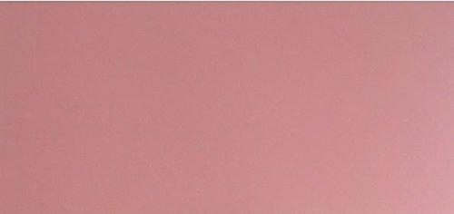 Wachsplatte rosa 20x10 cm - 9731 - Verzierwachsplatte 200x100 mm für Kerzen