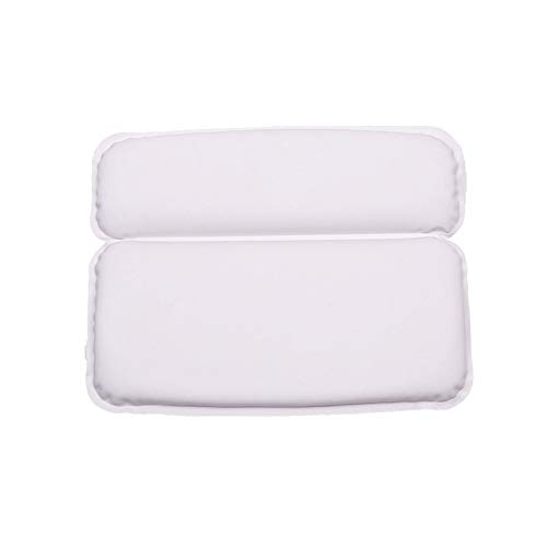 Bath Pillow - Oreiller De Baignoire De Luxe Avec 7 Suction Cups Headrest, Soft, Large, Imperméable À L'Eau, Fits Hot Tub, Home Spa