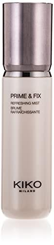 KIKO Milano Prime & Fix Refreshing Mist | Spray Multifonction : Base Rafraîchissante et Fixateur De...
