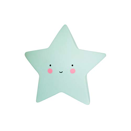 A Little Lovely Company - Nachtlampe Nachtlicht - Mini Star Light - Sternenlicht - Mint